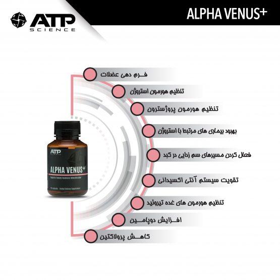 ویژگی های مکمل ALPHA VENUS