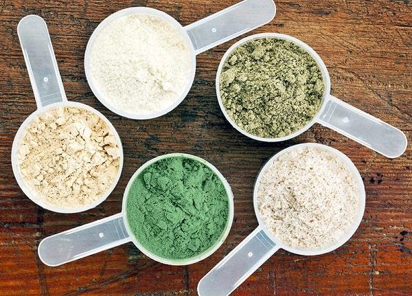 انواع مکمل یا پودر پروتئین